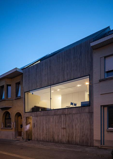 Wooden House CM by Bruno Vanbesien