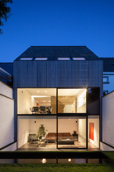 Wooden House CM by Bruno Vanbesien