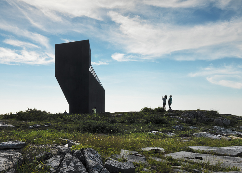 Fogo Island Tower Studio by Saunders Architecture