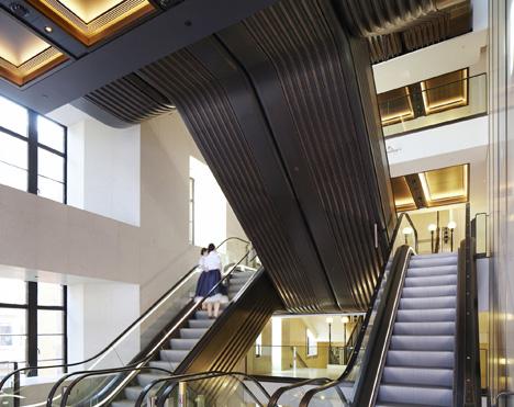 Harrods Escalator Hall, London, United Kingdom by Make Architects