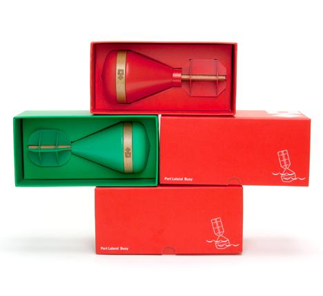 Buoys in packaging