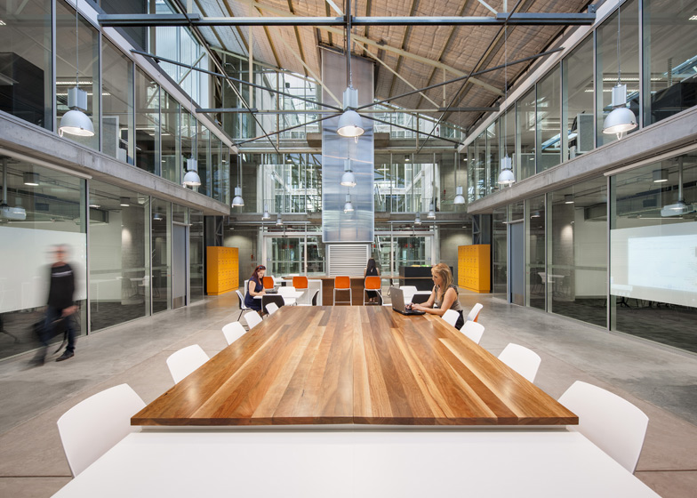 Sustainable Industries Education Centre, Tonsley, Tafe, Adelaide Australia by MPH Architects