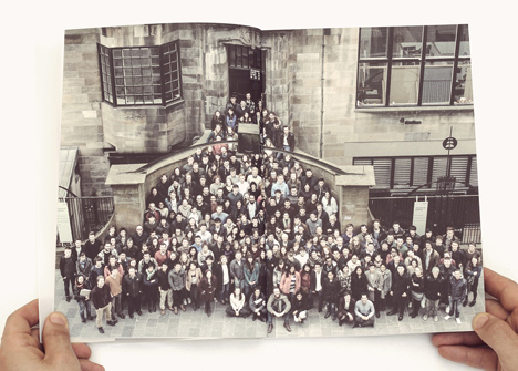 Students from the Mackintosh School of Architecture at Glasgow School of Art