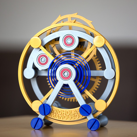 3D-printed-tourbillon