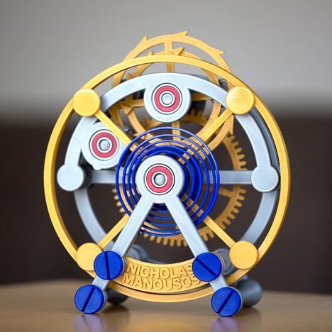 3D-printed-tourbillon