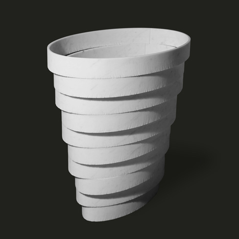 40x40 collection by Paolo Ulian and Moreno Ratti Gerla vase
