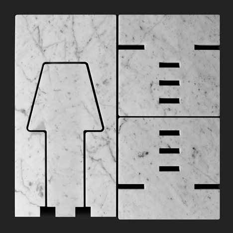 40x40 collection by Paolo Ulian and Moreno Ratti lamp