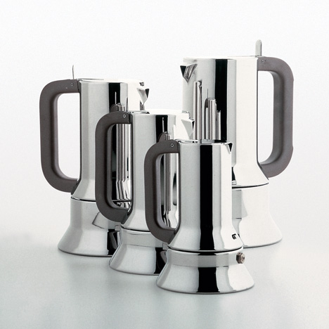 "Richard Sapper's espresso maker is an ""homage to my grandfather"" says Alberto Alessi"