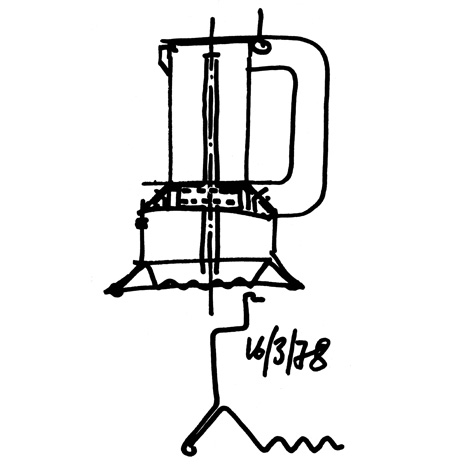 9090 espresso maker by Richard Sapper for Alessi