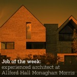 Job of the week: experienced architect at Allford Hall Monaghan Morris