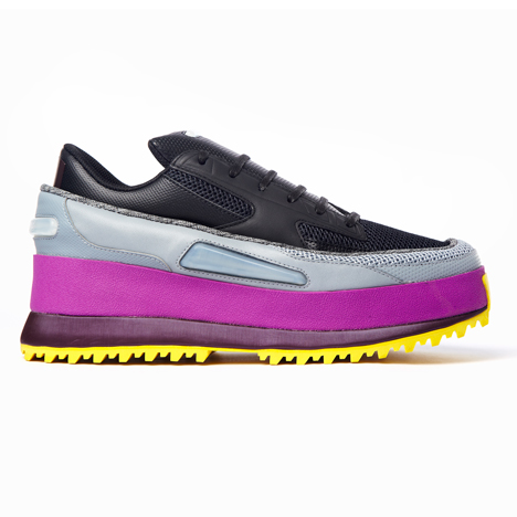 Raf Simons and Adidas collaborate<br /> on trainer collection