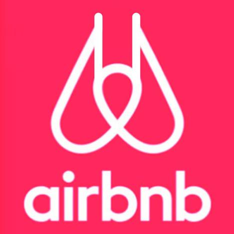 Airbnb logo manipulation