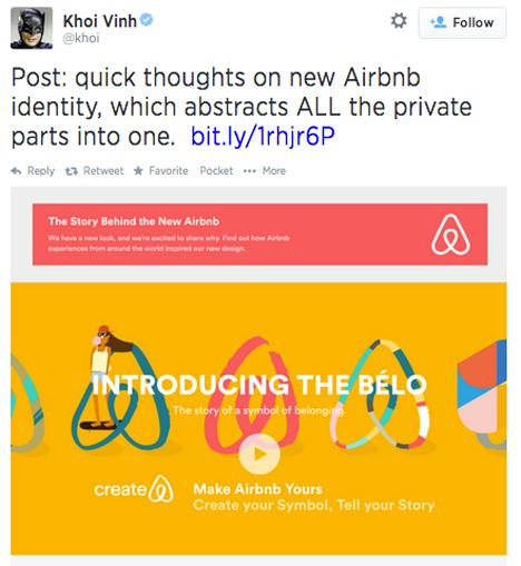 New Airbnb logo:
