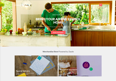 Airbnb rebrand by DesignStudio