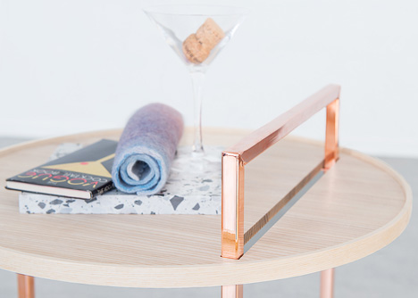 Akin Collection Orbit table by Ellika Henrikson