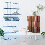 Anny Wang uses contrasting materials in Akin Collection of furniture