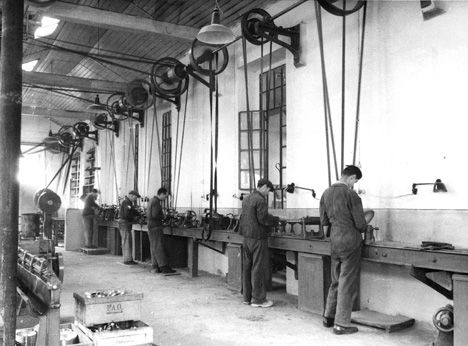 Alessi factory in the 1920s
