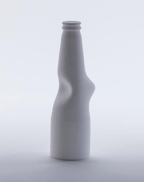 Andrea Morgante 3D Printed bottles