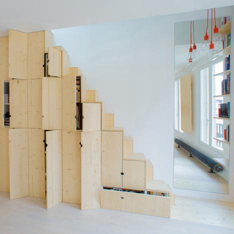Apartment in Paris by Schemaa
