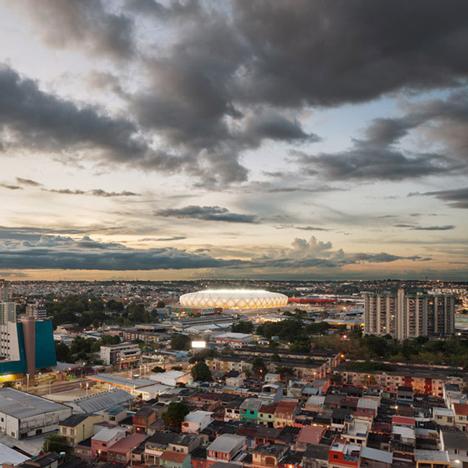 Arena de Amazonia Manaus by GMP Architekten