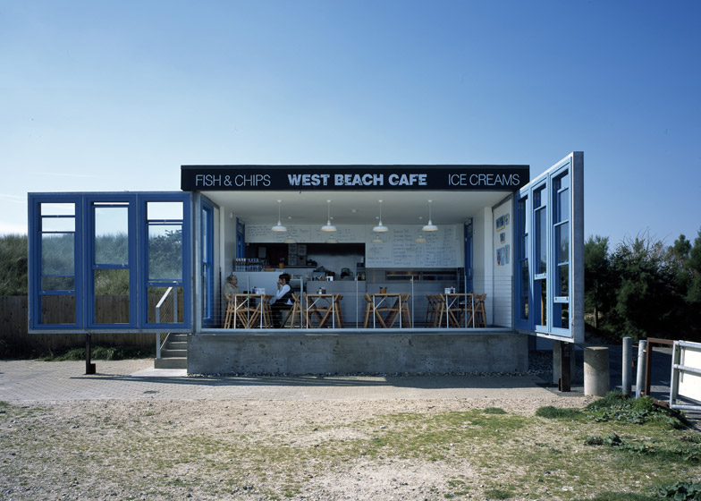 West Beach Cafe by Asif Kahn