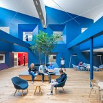 Bestor Architecture uses primary colours in Beats by Dre headquarters
