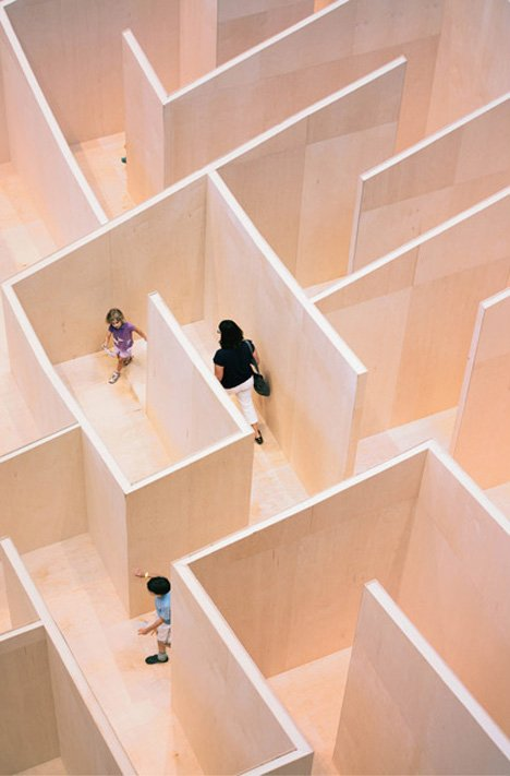 "Bjarke Ingels' ""BIG Maze"" opens at Washington's National Building Museum"
