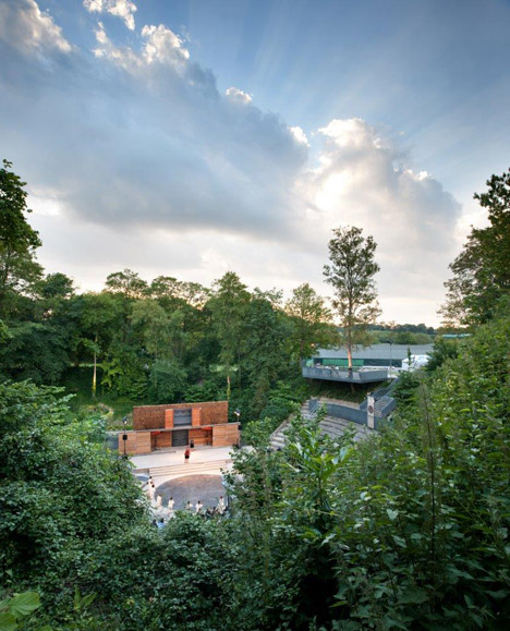 Bradfield College Greek Theatre by Studio Octopi