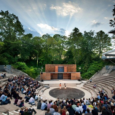 Open Air Theatre Design Dezeen