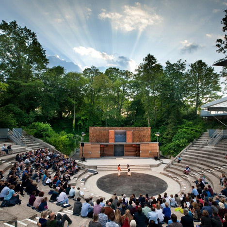 Studio Octopi sets the scene for Greek tragedies with revived school amphitheatre