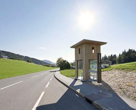 Bus Stops in Krumbach Austria