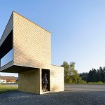 Kressbad bus stop by Rintala Eggertsson Architects