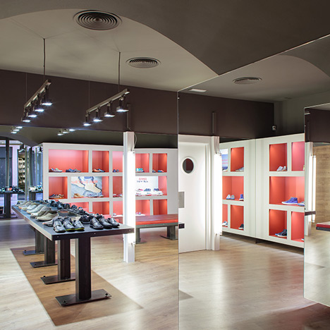 Fernando Amat designs Camper store in Palma de Mallorca