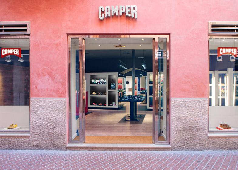 Camper store Palma de Mallorca by Fernando Amat