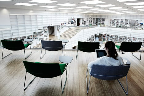 Dalarna Media Library by Adept