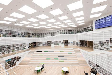 Dalarna Media Library by Adept
