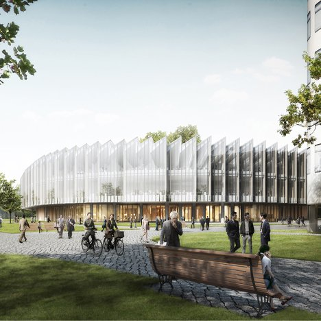 Herzog & de Meuron unveils plans for drug research centre in Cambridge