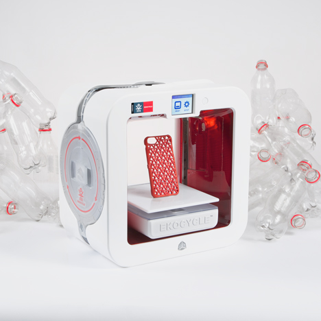 Coca-Cola and Will.i.am's 3D printer uses recycled bottles as filament