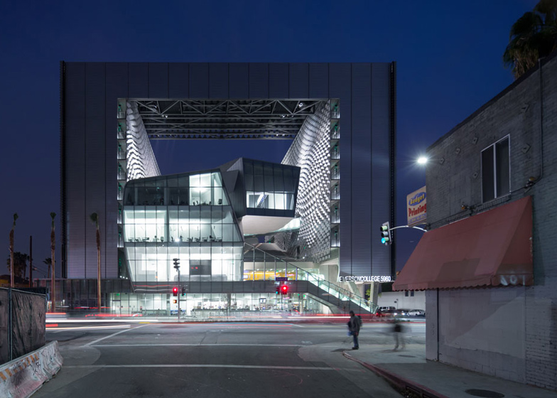 Emerson College, Los Angeles, by Morphosis