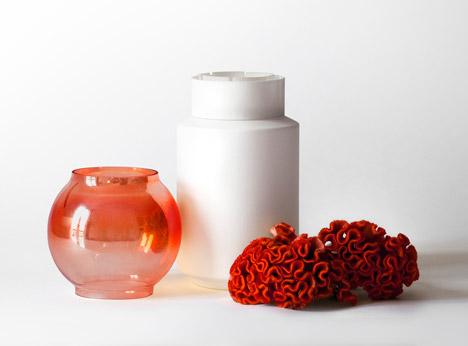 Experimenta vases by Giuseppe Bessero Belti