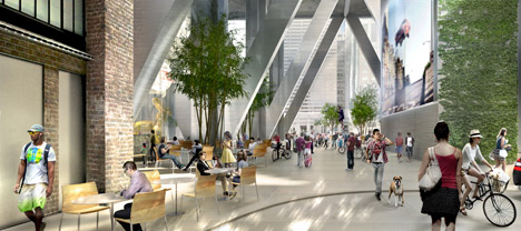 First and Mission Project for San Francisco's Transbay area by Foster + Partners