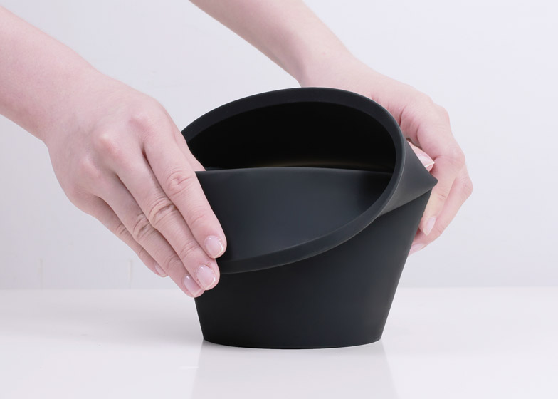 Fold Pot by Emanuele Pizzolorusso for Zincere