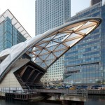 Foster's Canary Wharf Crossrail station nears completion