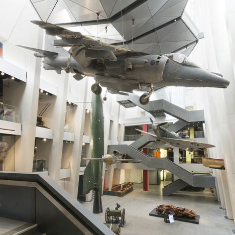 Foster + Partners adds First World War galleries to London's Imperial War Museum