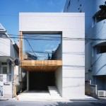 Apollo Architects specifies concrete and plastic for Frame house in Tokyo