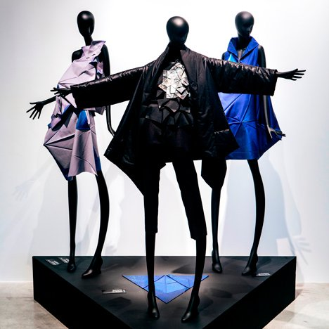 Li Edelkoort exhibits Issey Miyake garments at Design Museum Holon
