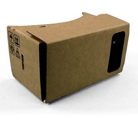 Google Cardboard virtual reality headset