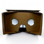 Google's thrifty virtual reality headset is built from cardboard