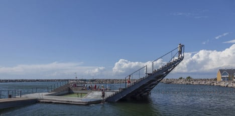 Hasle Harbour Bath by White Arkitetker