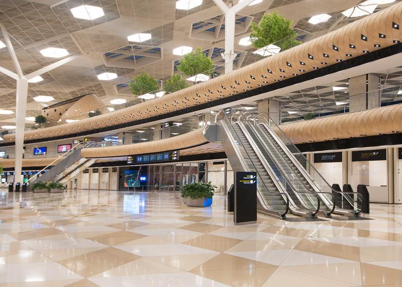 Heydar Aliyev Airport terminal by Autoban